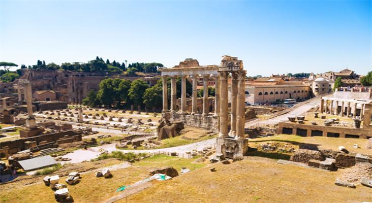 古罗马广场旅游景点大全 古罗马广场必去景点 地图 众信旅游悠哉网