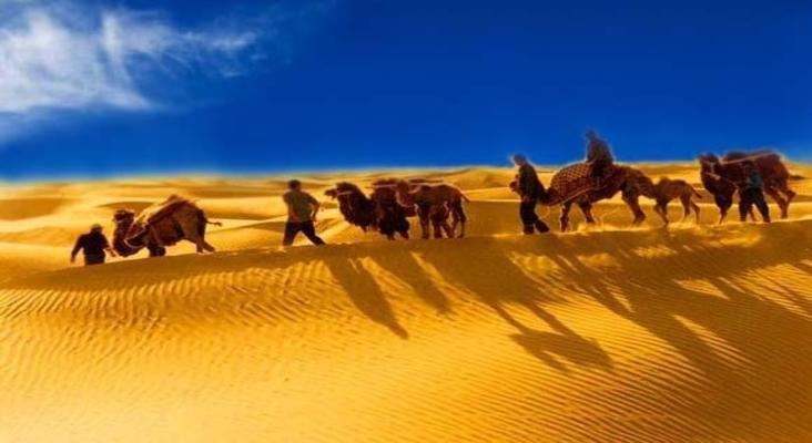 达瓦昆沙漠旅游景点风景