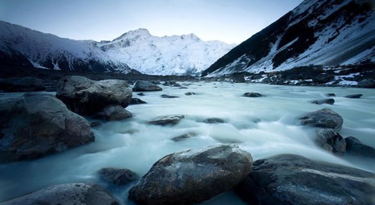 冰川小镇旅游景点风景