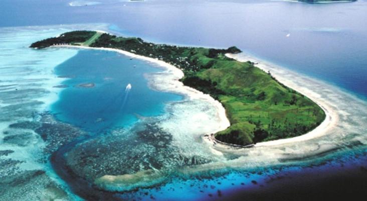 斐济玛娜岛旅游景点风景