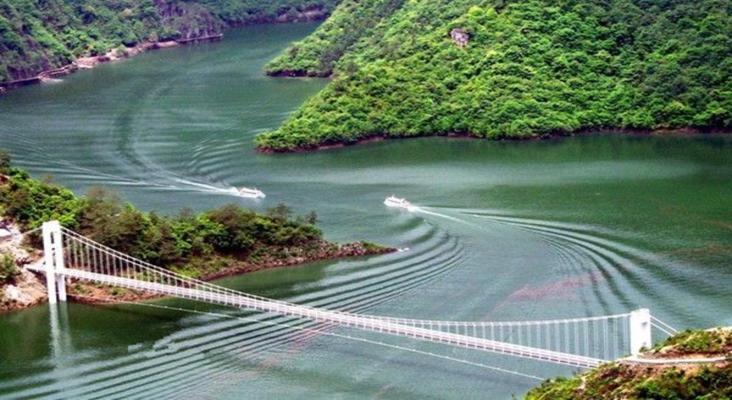 宁海县天河景区旅游景点风景